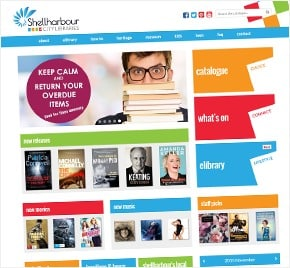 Shellharbour City Libraries Web Development