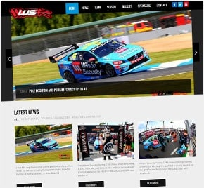 V8 Supercars Wilson Security Racing Website
