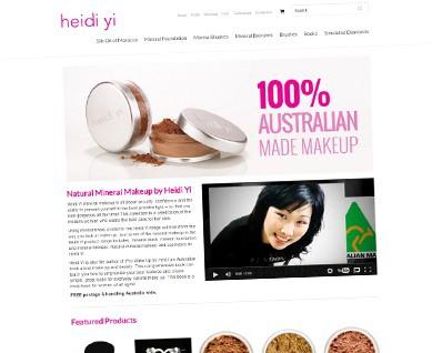 Heidi Yi Cosmetics Online Store