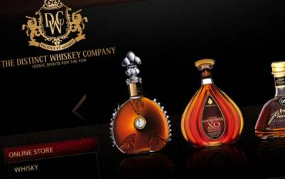 Online Store for Distinct Whiskey Company