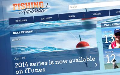 Television Series Website Fishing Australia