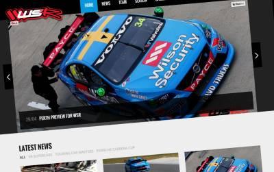 Website & Social Media for Wilson Security Racing