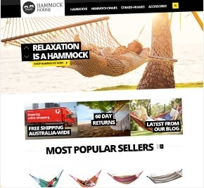 Online Store for Hammock House