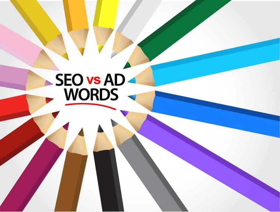 Seo vs AdWords Main Image